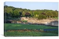Lesnes Abbey Ruins, Abbeywood, Canvas Print
