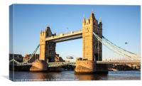 Helicopters at Tower Bridge, Canvas Print