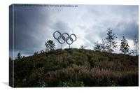 Olympic Park, Canvas Print