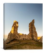 Reculver Towers, Canvas Print