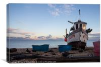 Deal Fishing Boat, Canvas Print