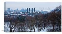 Greenwich Skyline, Canvas Print