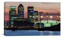 London Docklands, Canvas Print