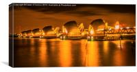 The Thames Barrier, Canvas Print