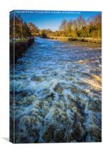 River Medway Flood, Canvas Print