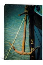 Edith May Thames Barge, Canvas Print