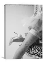 Boudoir Photography Pose, Canvas Print