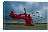 London Air Ambulance, Canvas Print