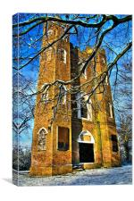 Severndroog Castle, Shooters Hill, Eltham, London,, Canvas Print