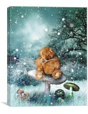 Brrr Bear, Canvas Print