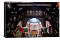 Crossness Pumping Station 3, Canvas Print