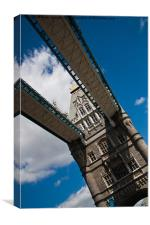 Tower Bridge 2, Canvas Print