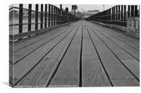 Southend on Sea, Pier Walk, Canvas Print