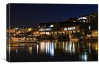 bristol harbour, Canvas Print