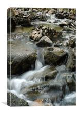 Welsh water, Canvas Print