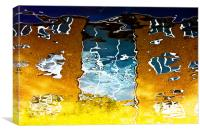 Canal Reflections, Canvas Print