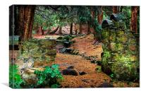 Gawtons Well, Canvas Print