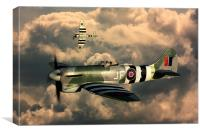 Hawker Tempest MkV, Canvas Print