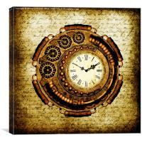 Vintage Steampunk Clock