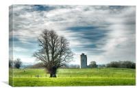 Kilworth Castle HDR 1, Canvas Print