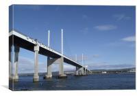 Kessock Bridge Inverness-Shire, Canvas Print