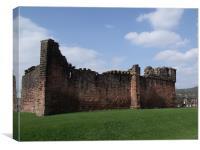 Penrith Castle, Canvas Print