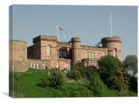 Inverness Castle, Canvas Print