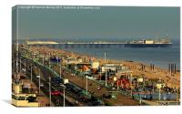 Brighton Seafront, Canvas Print