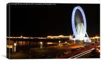 The Brighton Eye, Canvas Print