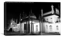 Royal Pavilion Brighton, Canvas Print