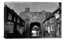 Rye, East Sussex, Canvas Print