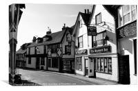 The Standard Inn, Rye, Canvas Print