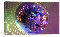 Let's Disco!, Canvas Print