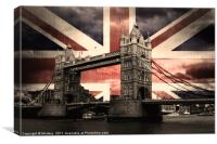 Union Jack London, Canvas Print