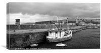 Whitehaven Harbour, Canvas Print