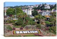 Dawlish Town, Canvas Print