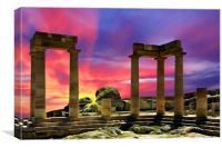 Athena At Dawn, Canvas Print