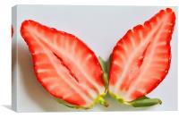 Strawberry Split, Canvas Print