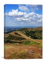 The Malvern Hills, Canvas Print
