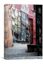 Bohemian Stairway, Canvas Print