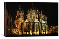 St. Vitus Cathedral, Canvas Print