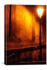 Street Light of Prague, Canvas Print