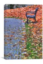 A Lonely Seat, Canvas Print