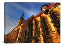 Bratislava Church, Canvas Print