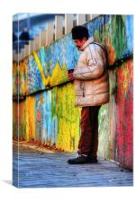Streets of Colour, Canvas Print