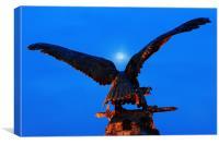 Eagle Moon, Canvas Print