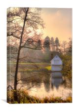 Boathouse, Canvas Print
