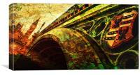 Westminster Bridge & Big Ben, Canvas Print