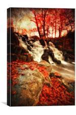 Autumn Falls, Canvas Print