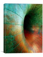 A Ring of bright Colours, Canvas Print
